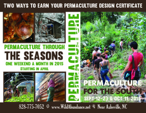 2015 Permaculture postcard